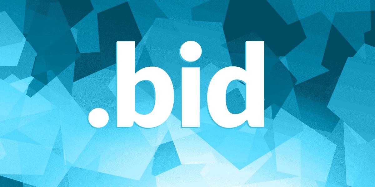 Bid domain registration get your bid domain name for Get bids