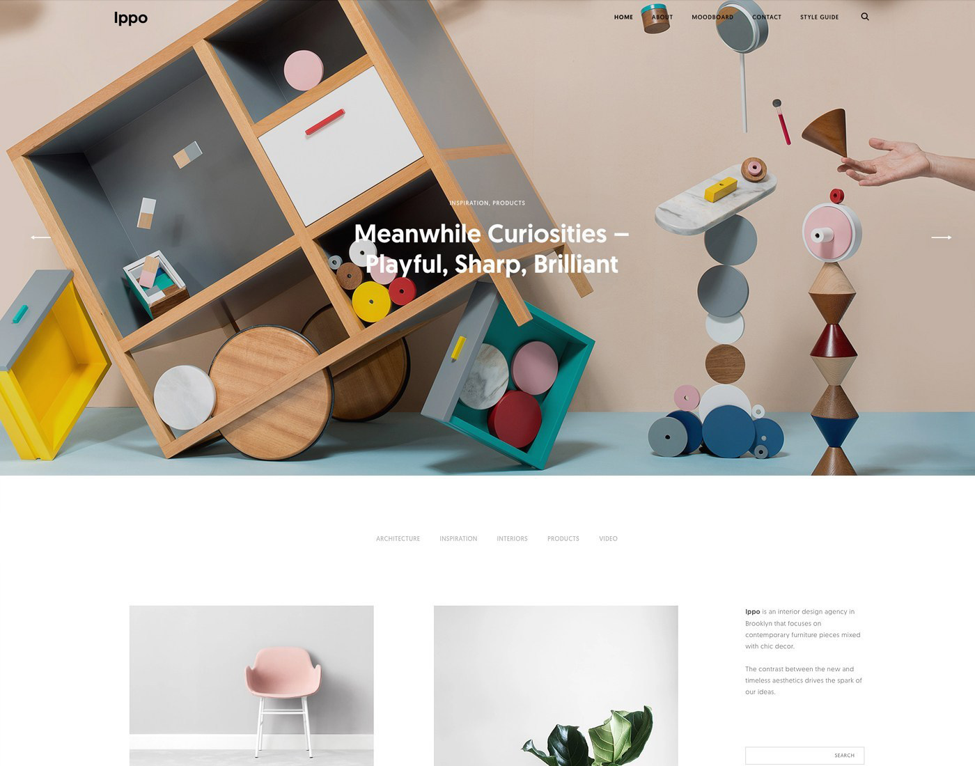 Theme WordPress Ippo