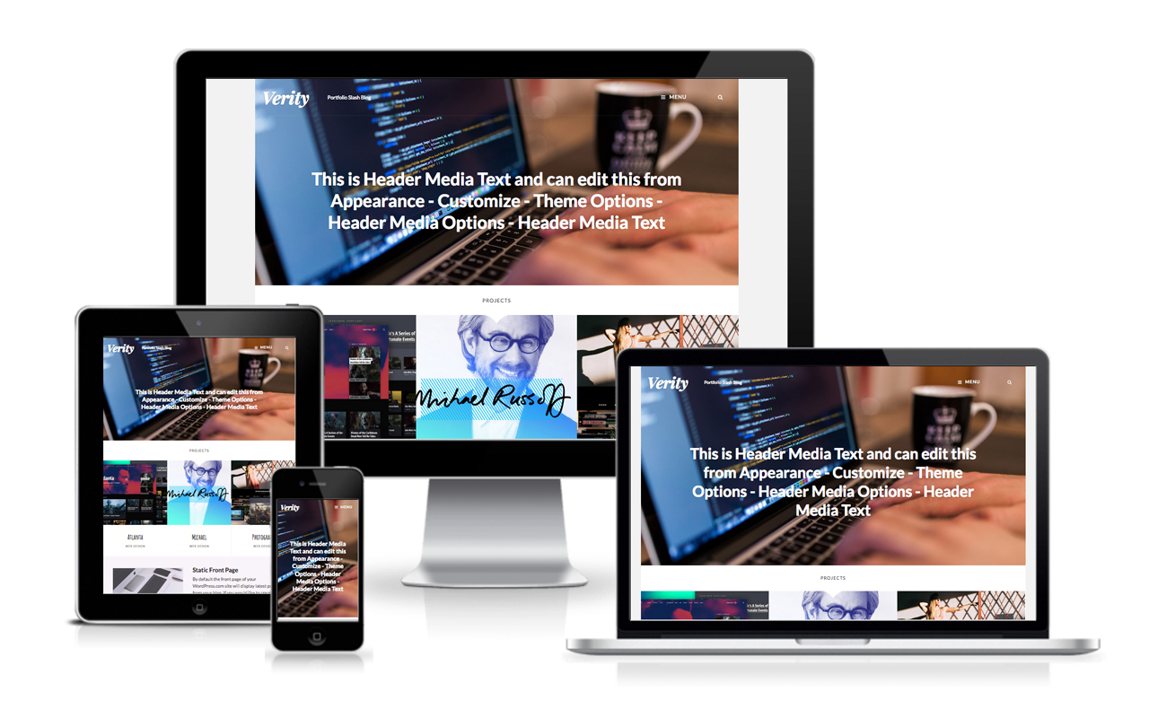 Verity Pro WordPress Theme